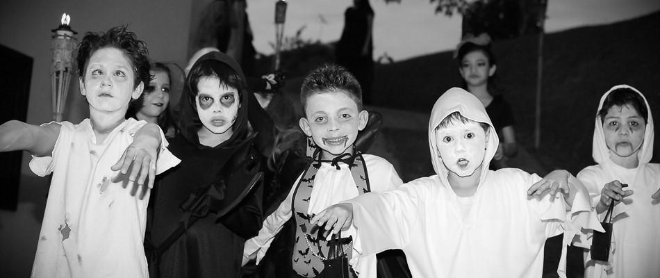 Festa infantil :: Halloween :: Oito anos