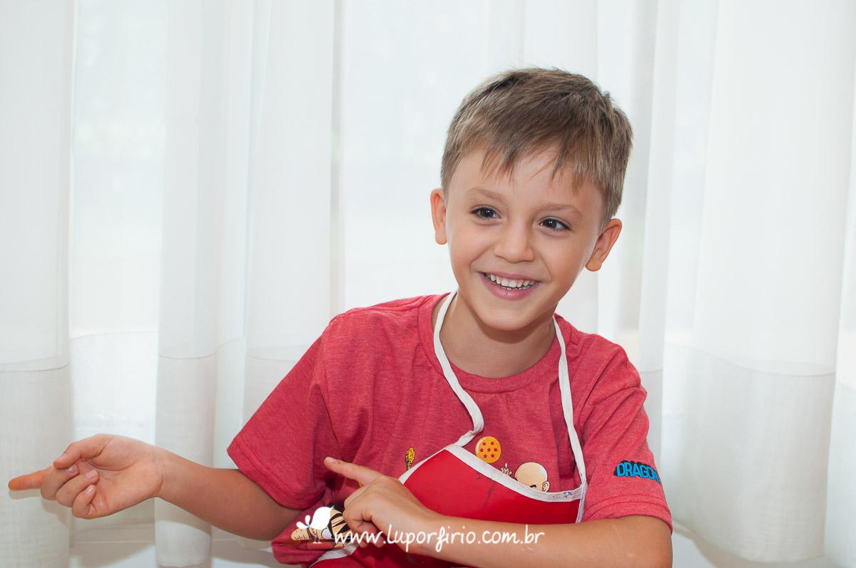 Miguel - 6 anos