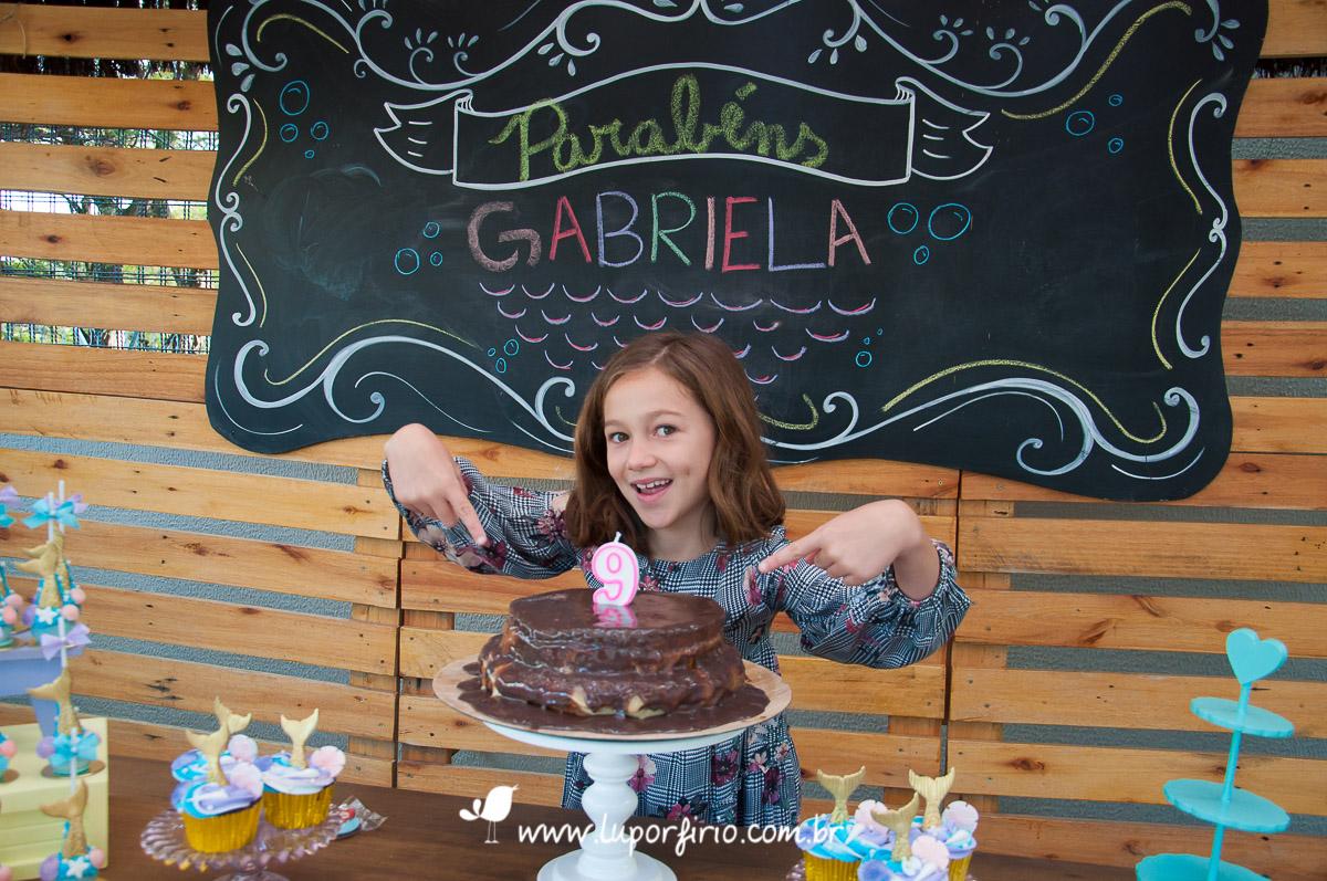 Gabriela - 9 anos