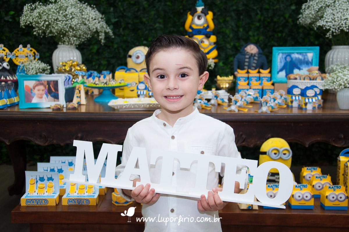 Matteo - 5 anos