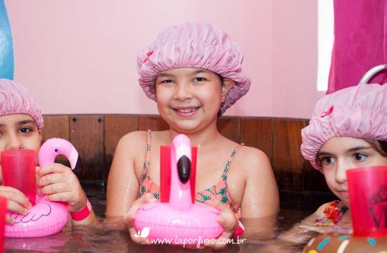 Fotografia festa spa | Gabi – 9 anos | Trabalho registrado pela LuPorfirio Fotografia