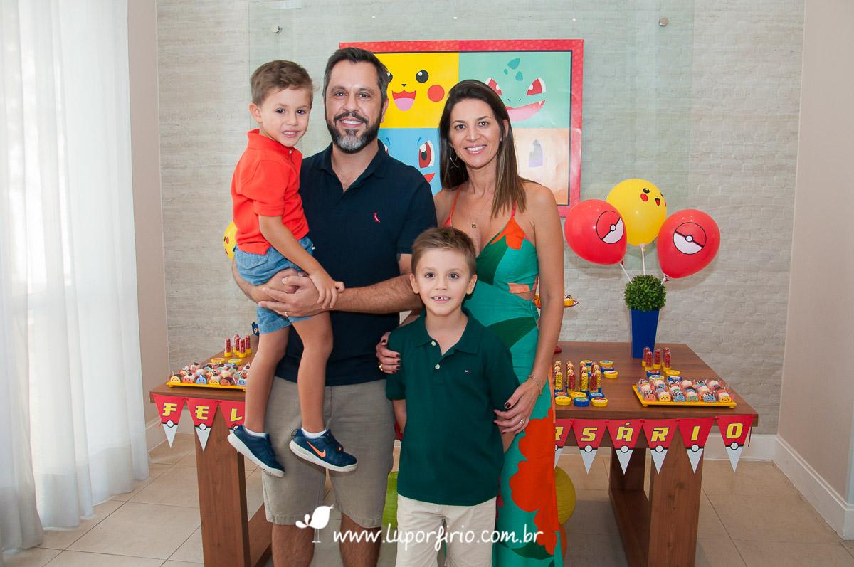 Miguel e Felipe – 7 e 4 anos