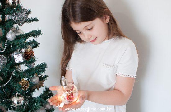Mini-ensaio de Natal SP 2020 | Rafaela | Trabalho registrado pela LuPorfirio Fotografia