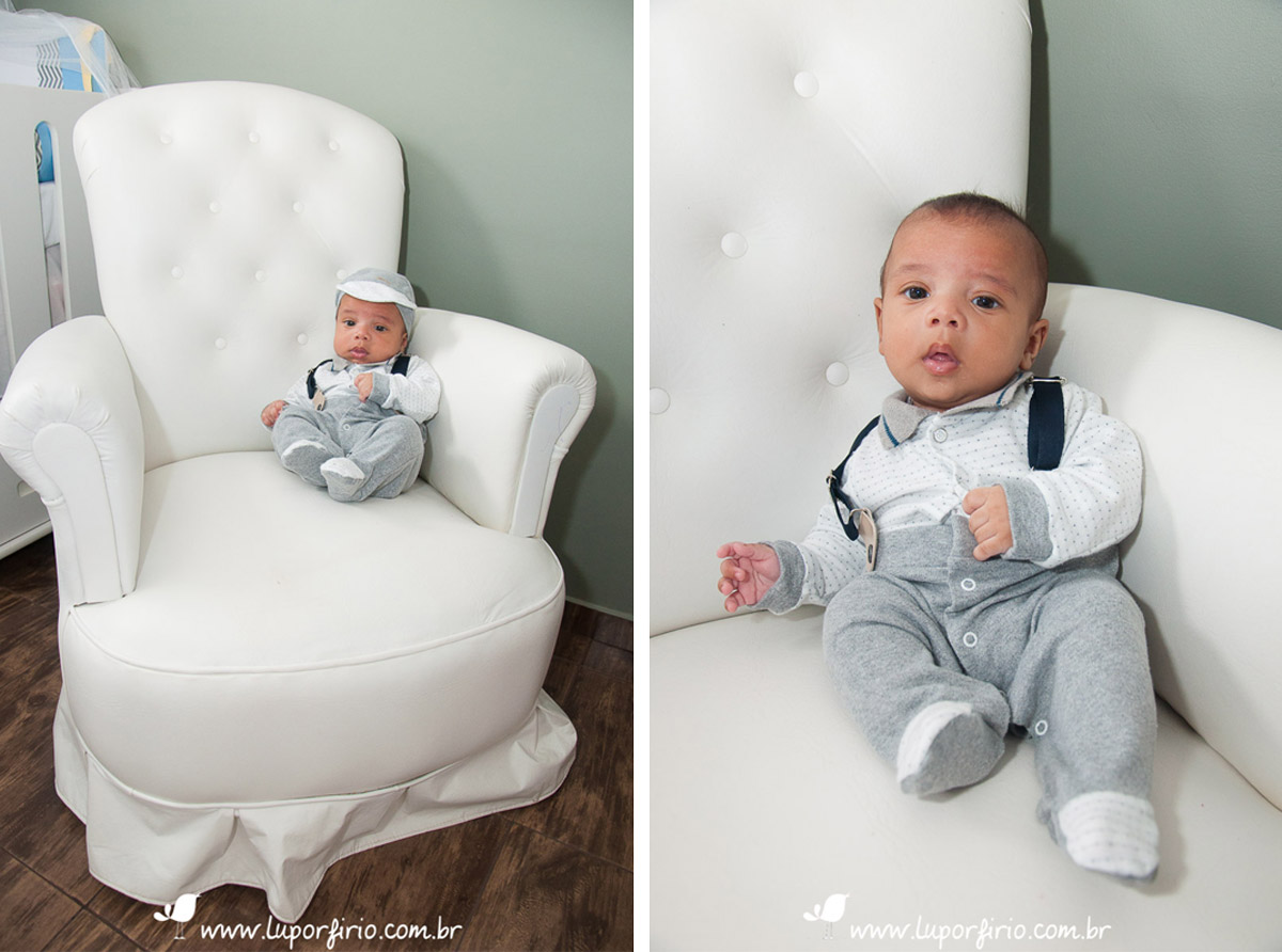 Ensaio de bebê 3 meses lifestyle | Ryan | LuPorfirio Fotografia